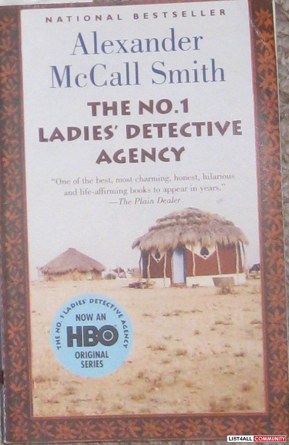 a short review of the no1 ladies detective agency a novel by alexander mccall smith The no 1 ladies' detective agency alexander mccall smith, 1998 knopf doubleday 240 pp isbn-13: 9780307456632 summary the no1 ladies´ detective agency, located in gaborone, botswana, consists of one woman, the engaging precious ramotswe.