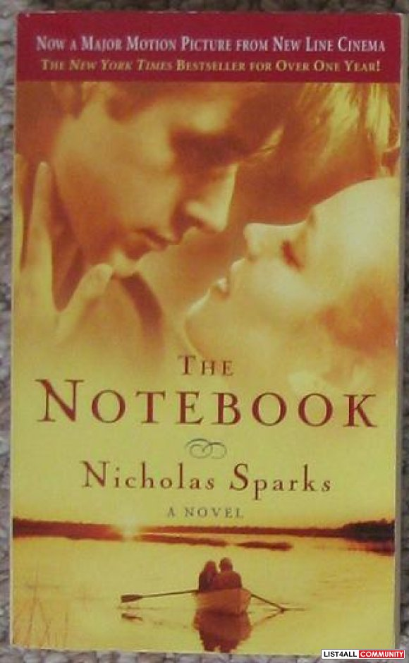 The Notebook, by Nicholas Sparks