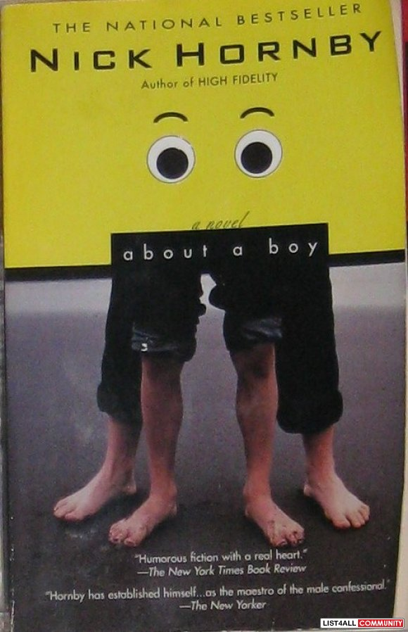 About A Boy, by Nick Hornby