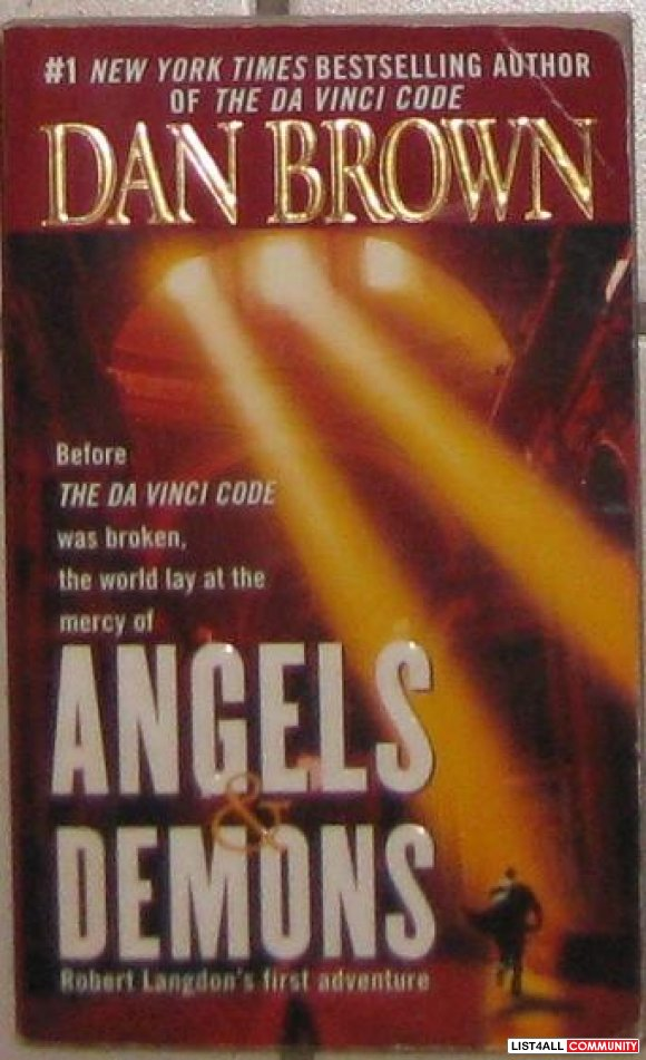 Angels & Demons, by Dan Brown