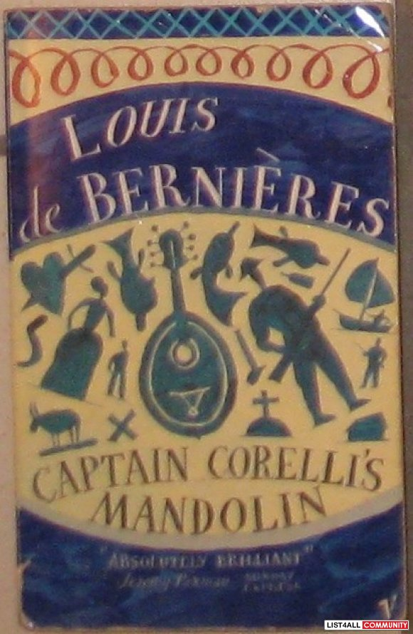 Captain Corelli's Mandolin, by Louis de Bernieres