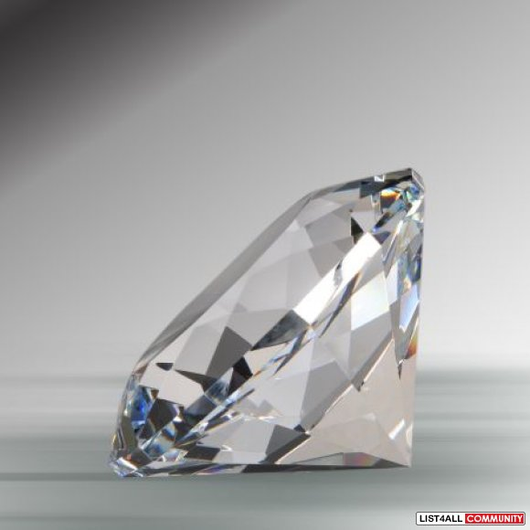 "150mm 5.9"" Clear Diamond Crystal New Gift - $50"