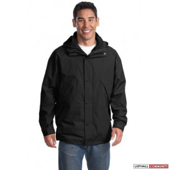 Brand New Port Authority - 3-in-1 Jacket -- $30