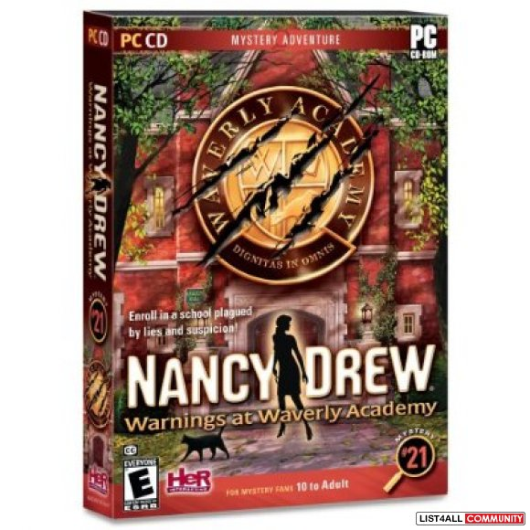 Nancy Drew -Warnings at Waverly Academy