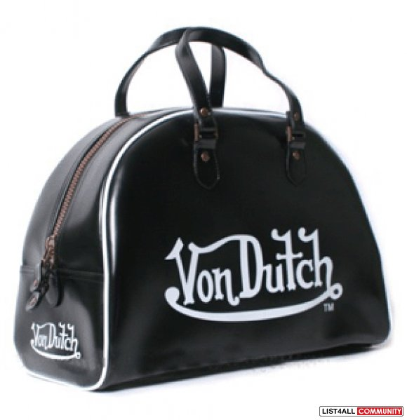 Von Dutch Large Duffle Bag