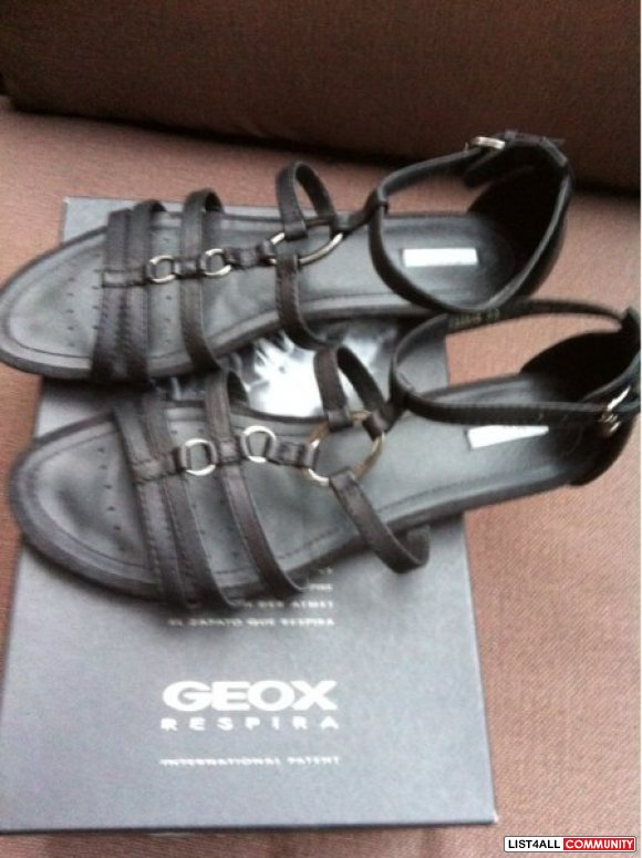 Geox leather sandals