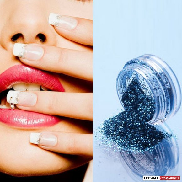 12pcs Color Glitter Dust Nail Art :: colourcouture :: List4All