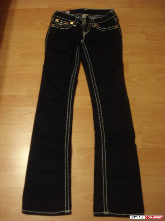 Authentic True Religion Super T Becky Boot Cut Jean