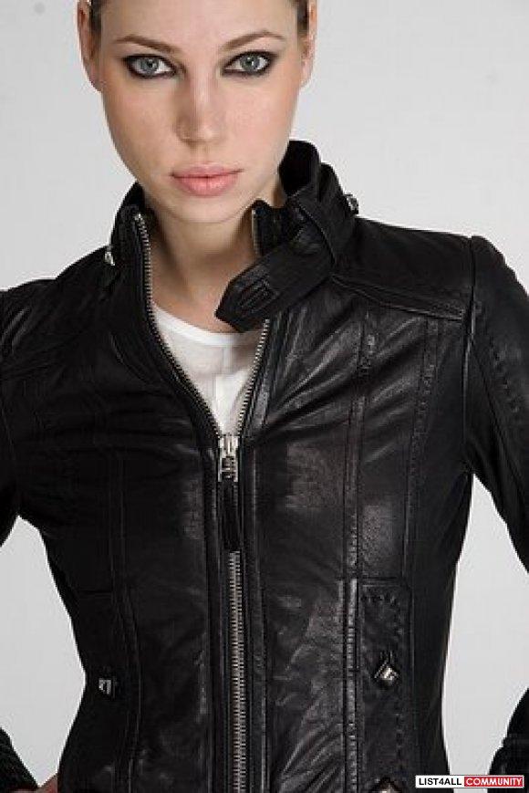 Mackage Leather Jacket Elie Juliescloset List4all
