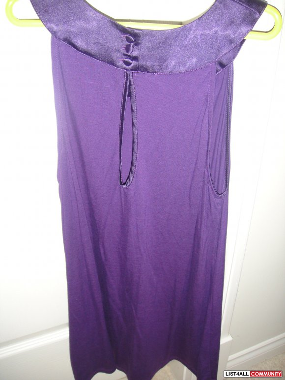 Cute Purple Tank top -Size S