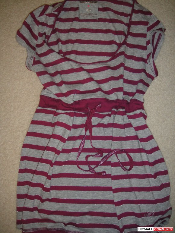 Garage Babydoll shirt with a tie up string