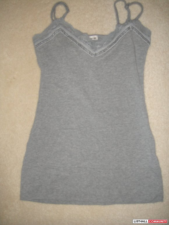 Lace Gray Tank from UB