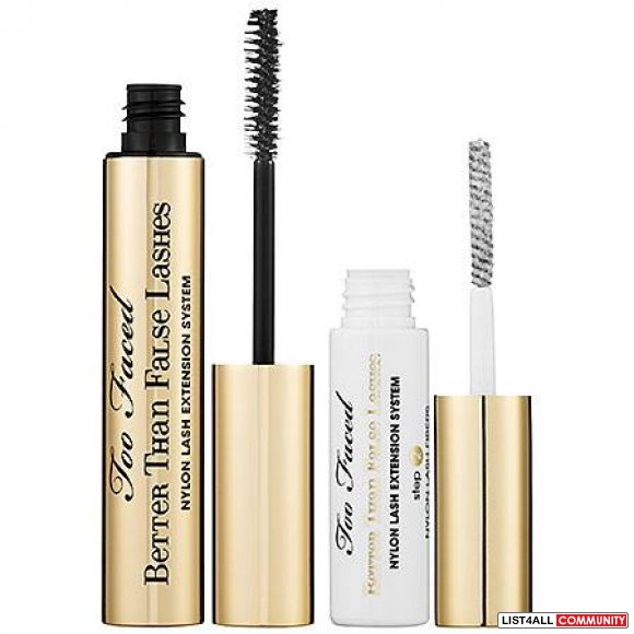 NEW Too Faced Better Than False Lashes Nylon Lash Extension System