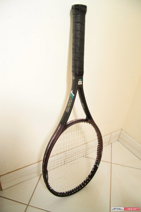 Wilson Tennis Racquet with Case included