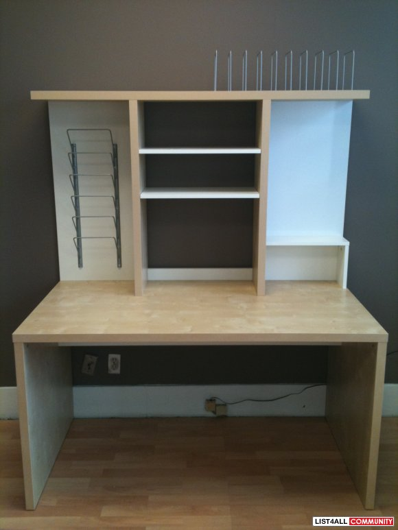 Ikea Mikael Desk With Shelf Unit Reg 170
