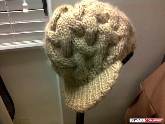 Cool winter hat- brown