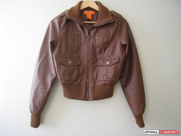 JOE FRESH Biker Leather Jacket (REDUCED!!)