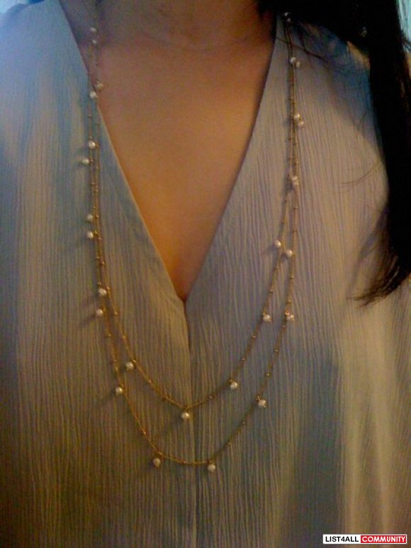 LOVER'S TEMPO Long Beaded Necklace