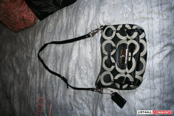 Authentic Coach crossbody handbag