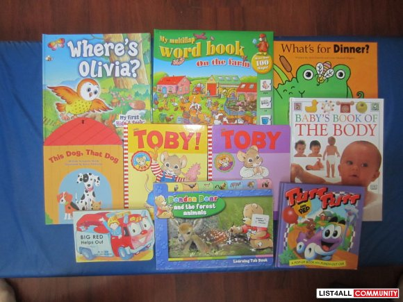 10 Board -hard cover books - set 2