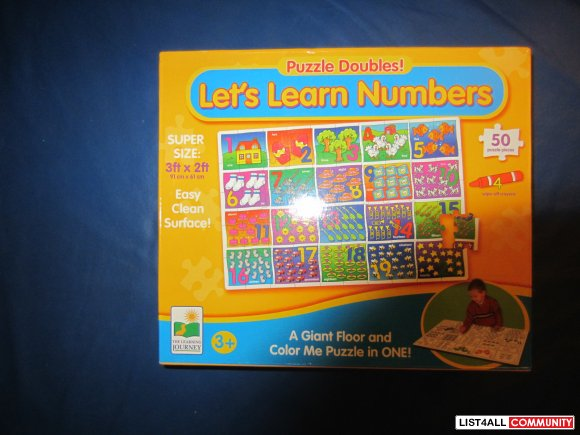 Let's learn numbers puzzle