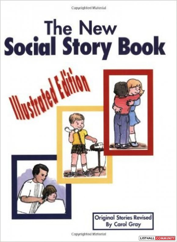 The New Social Story Book: Illustrated Edition: Teaching Social Skills