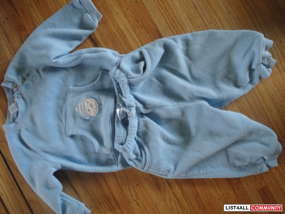 Boys 12m Fleece sweatsuit