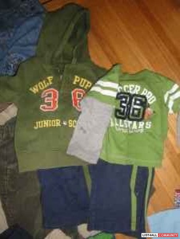 12m boy Pants Lot