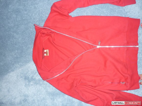 small FCUK zip up hoody