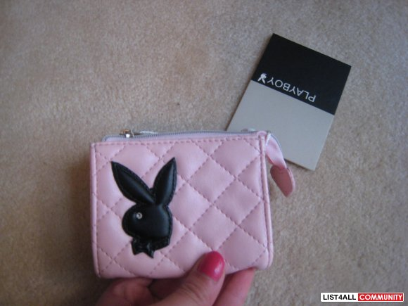 NEW PLAYBOY COIN PURSE W/ TAGS