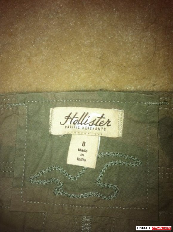 Hollister army pattern skirt