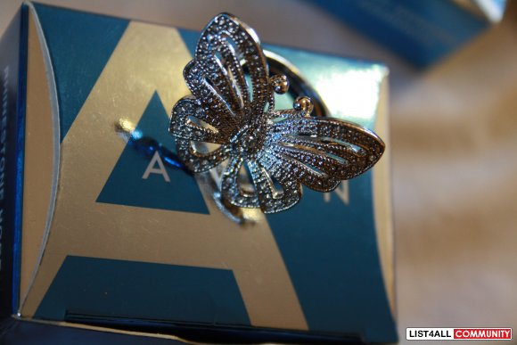 Avon Silver Butterfly Ring Cheap Stuff List4all