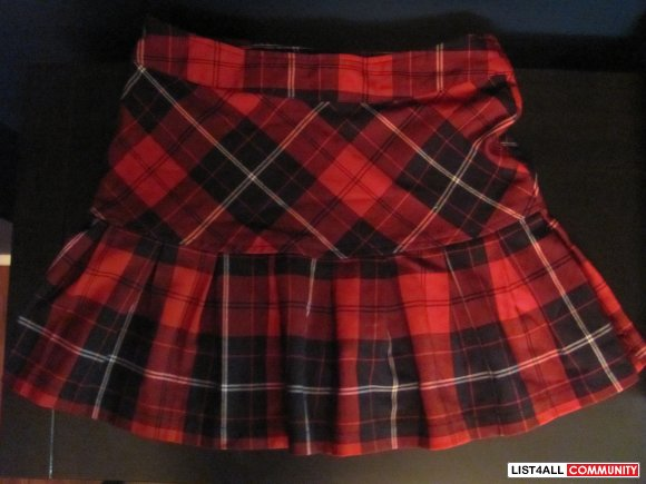 School Girl Skirt Size XS/S