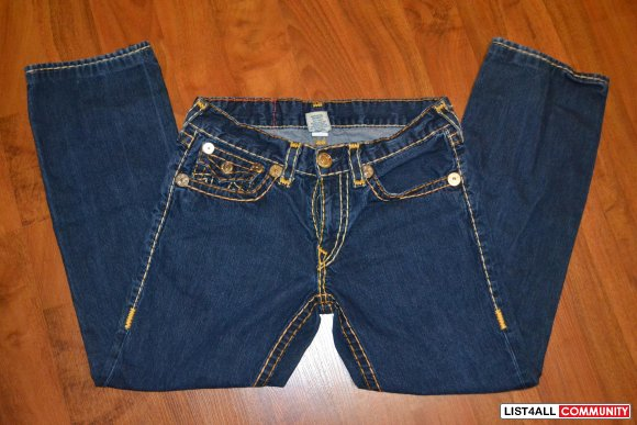 True Religion Ricky Super T 33x29 (Pre-owned) LIKE NEW