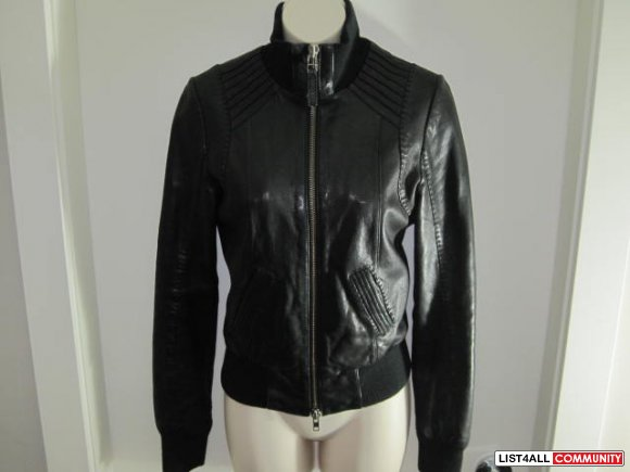 Blk Mackage Jerry Leather Jacket :: designerloves :: List4All