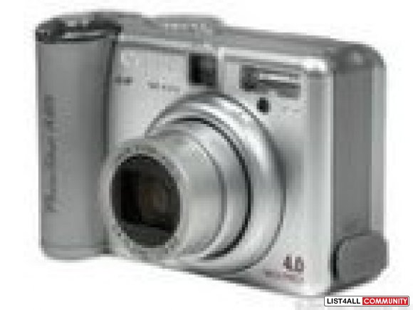 Canon Powershot  Digital Camera A85  4.0 Megapixels