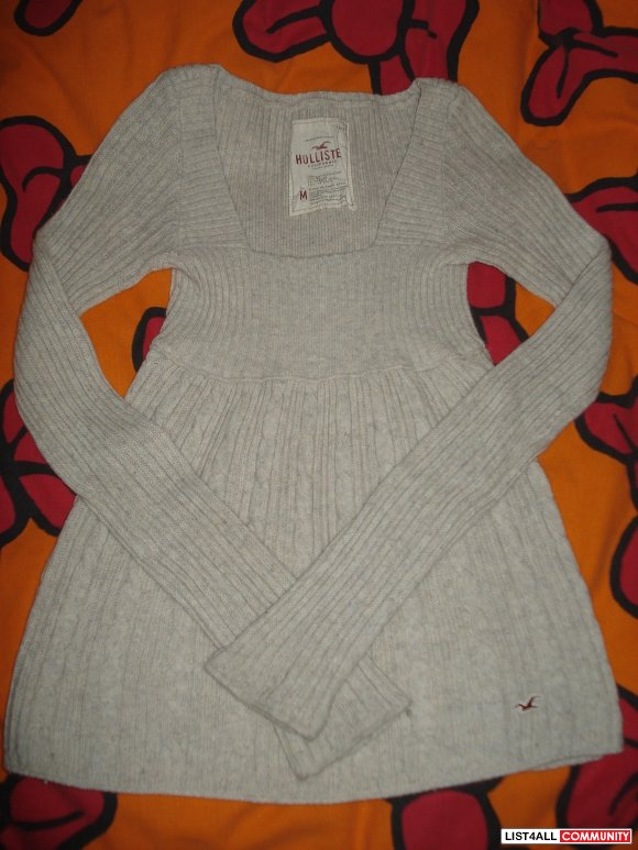Cardigan Empire Waist