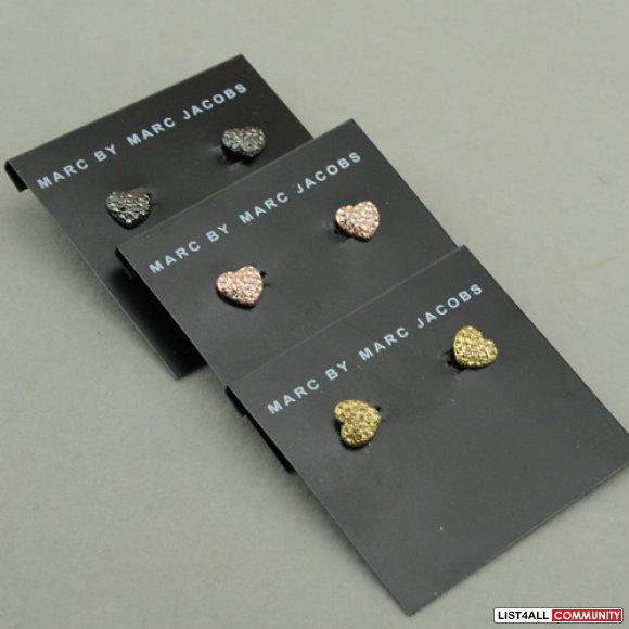 New Marc By Jacobs Heart Earrings