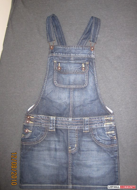 Guess by Marciano Jean Overall Skirt XS-price reduced!!