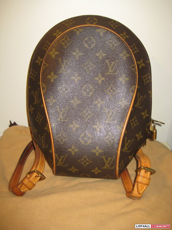 LV Monogram Ellipse Backpack  SALE $200