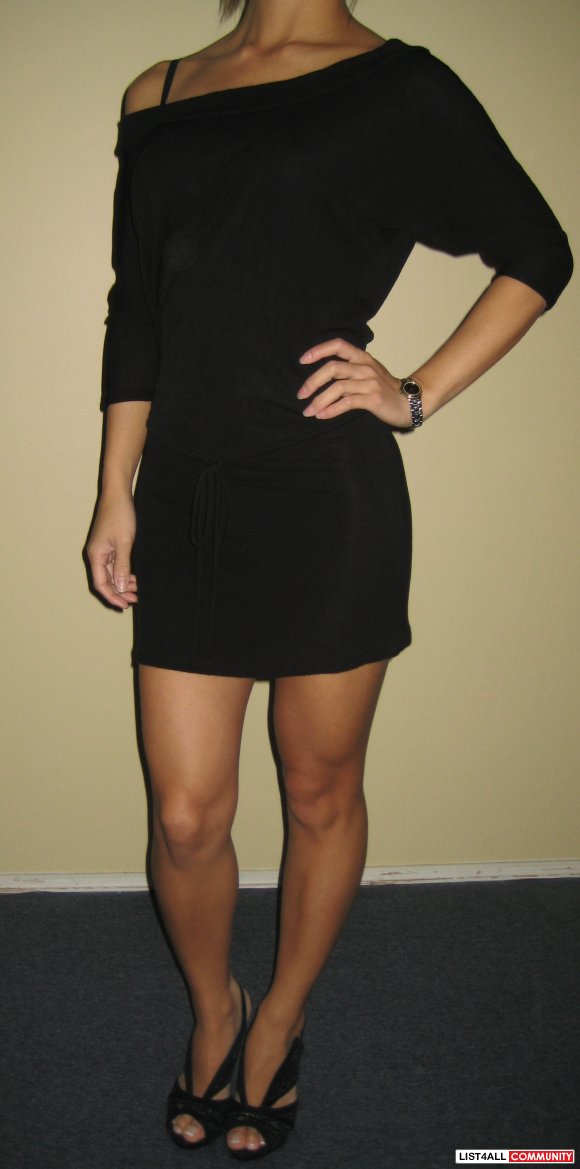 Annex Black Dress Sz XS