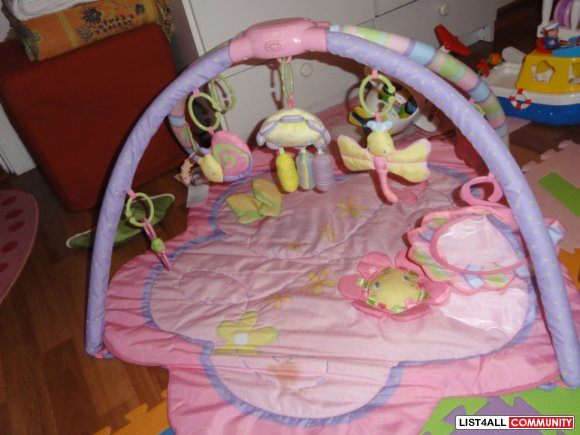 Bright stars play gym/tummy time sale $10.00