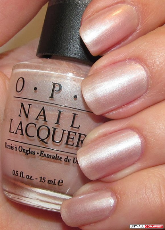Souvent OPI Sweet Heart/Pearl of Wisdom Nail Polish SALE :: katscloset  YN09