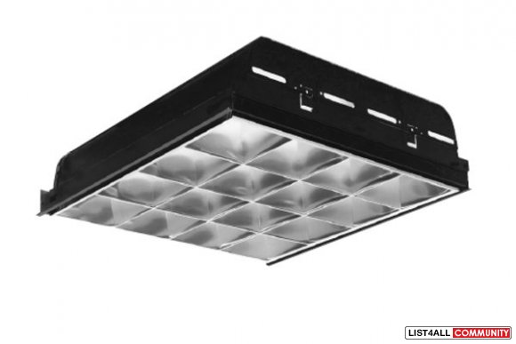 CFI Fluorescent - 2ft x 2ft Grid Light Fixtures - DeepCell - NEW