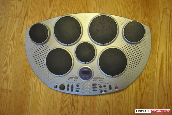 Casio Electronic Drum kit from Japan