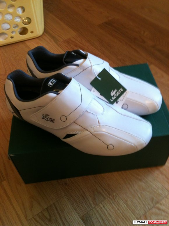 Brand New Lacoste Shoes Size: 10