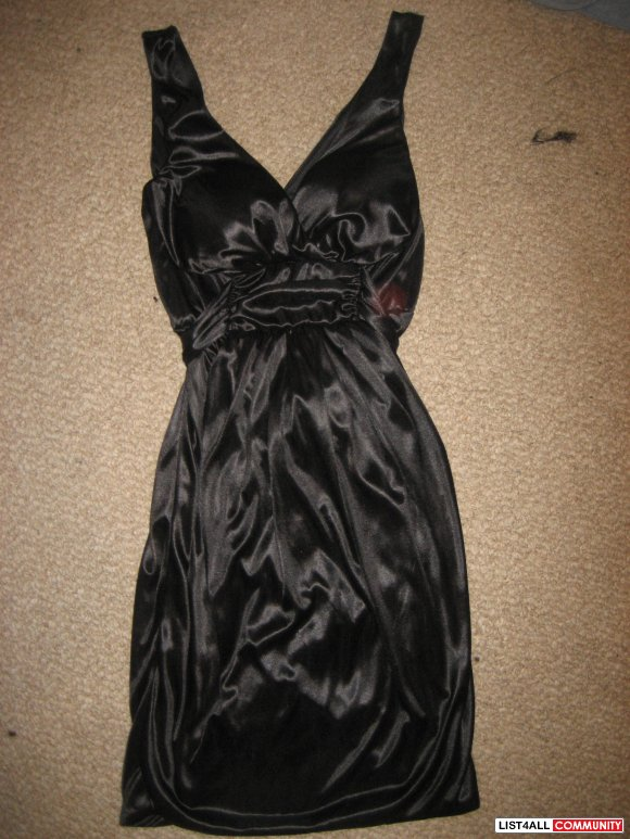 Silk Black Dress NEW!