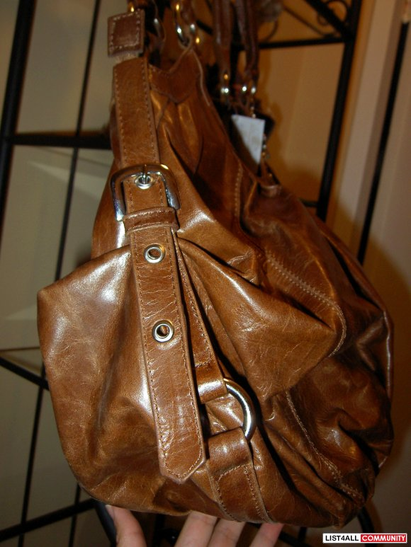 Genuine Leather Bag - Imported Handmade   Large Bag  **NWT**