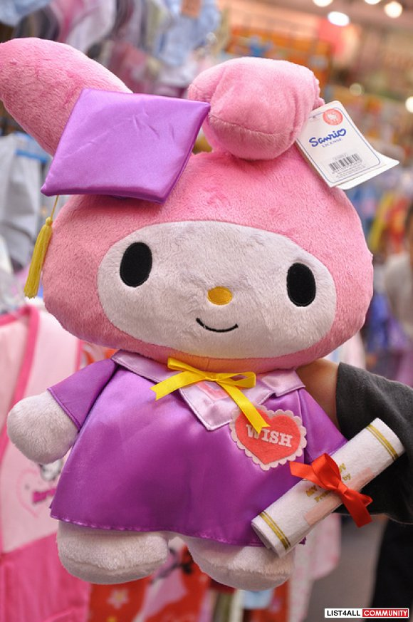 My Melody Graduation Plush Doll