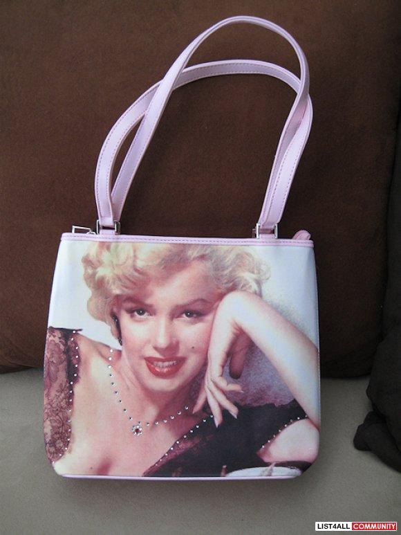 Pink Marilyn Monroe Purse